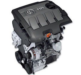 VW-Golf-TDI-engine