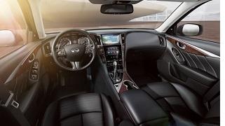 2014 infinti Q50S interior