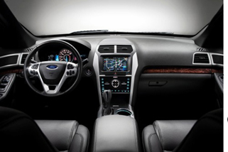 2014_ford_explorer limited interior