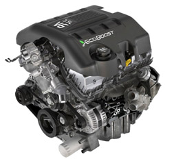 2014 Ford EcoBoost V6 3.5L Engine