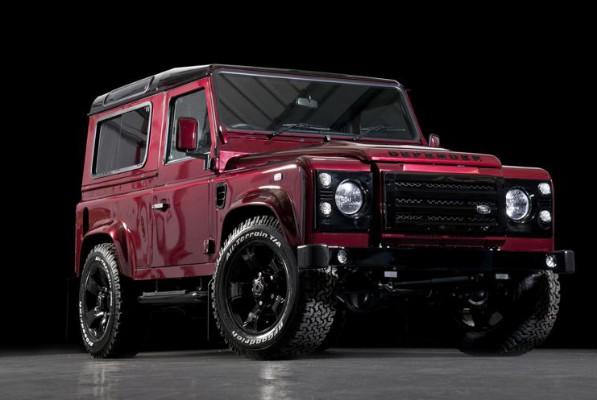 Red Land Rover Defender Wildcat