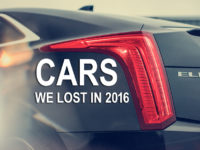 Cars We Lost in 2016
