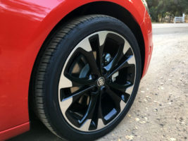 2017 Buick Cascada right front wheel