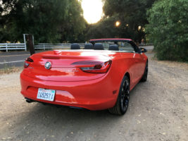 2017 Buick Cascada rear 3 quarter