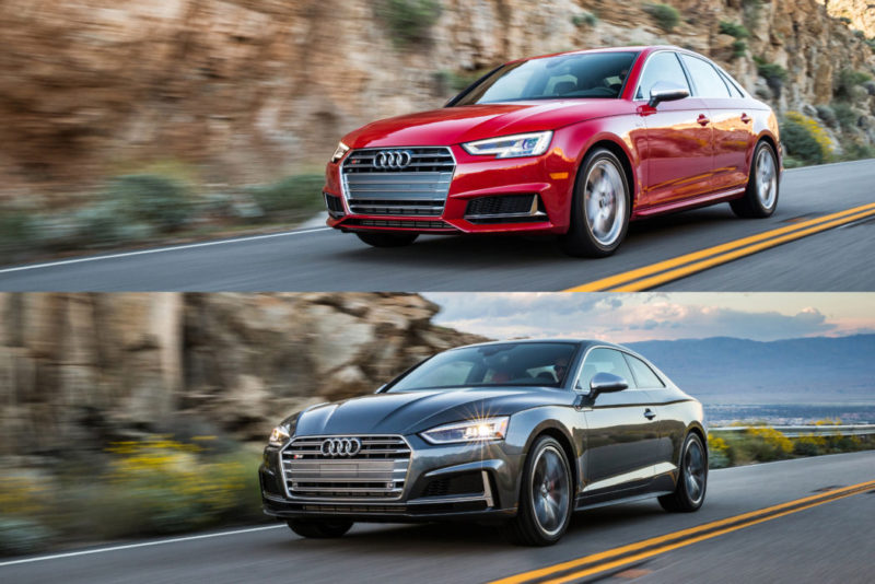 2018 Audi S4 and S5