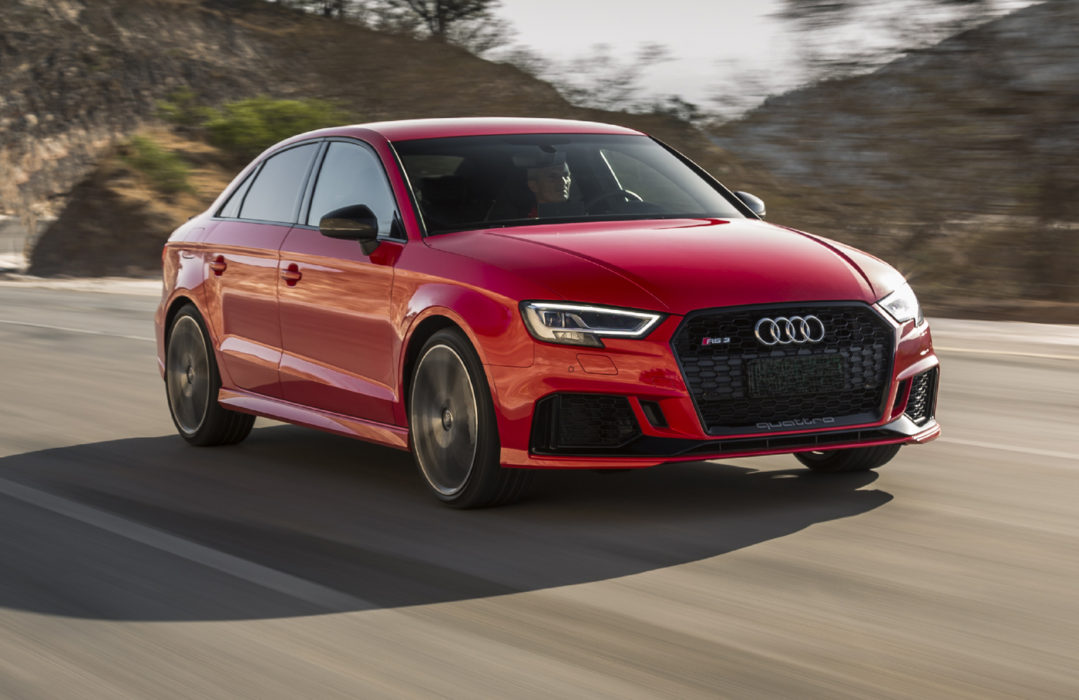 round two 2017 audi rs 3 sedan tested road test reviews. Black Bedroom Furniture Sets. Home Design Ideas