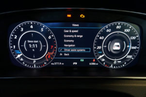 Golf R Digital Dash