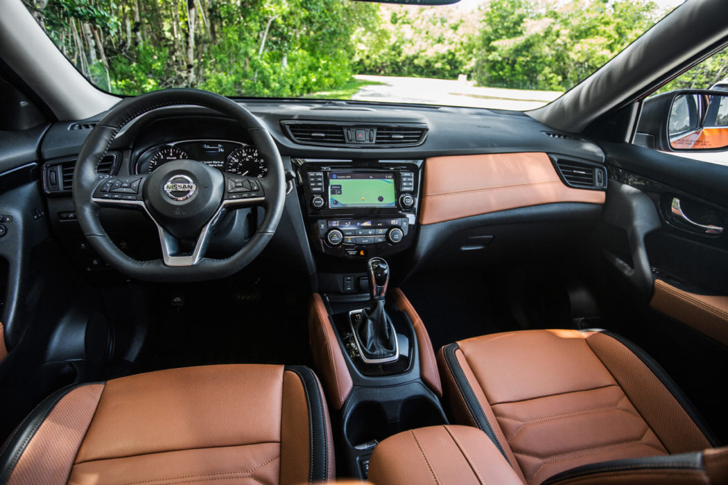 2018 Nissan Rogue Awd Space And Grace On A Budget Road Test Reviews