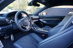 2020 Lexus RC F Interior