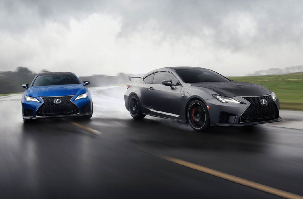2020 RC F and RC F Track Edition