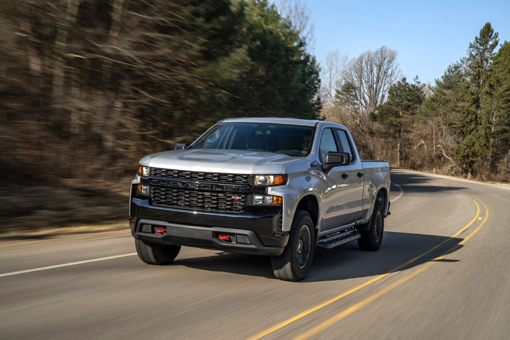 2020 Chevrolet Silverado Custom Trail Boss