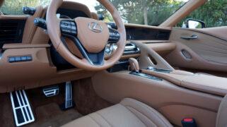 2021 Lexus LC 500 Convertible Interior