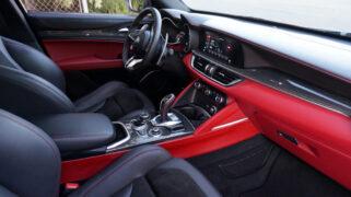 2020 Alfa Romeo Stelvio Quadrifoglio Interior