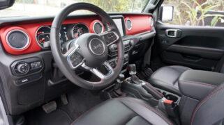 2021 Jeep Gladiator Rubicon Interior