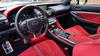 2021 Lexus RC F Fuji Speedway Edition Interior