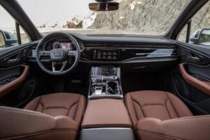 2020 Audi Q7 55 TFSI interior