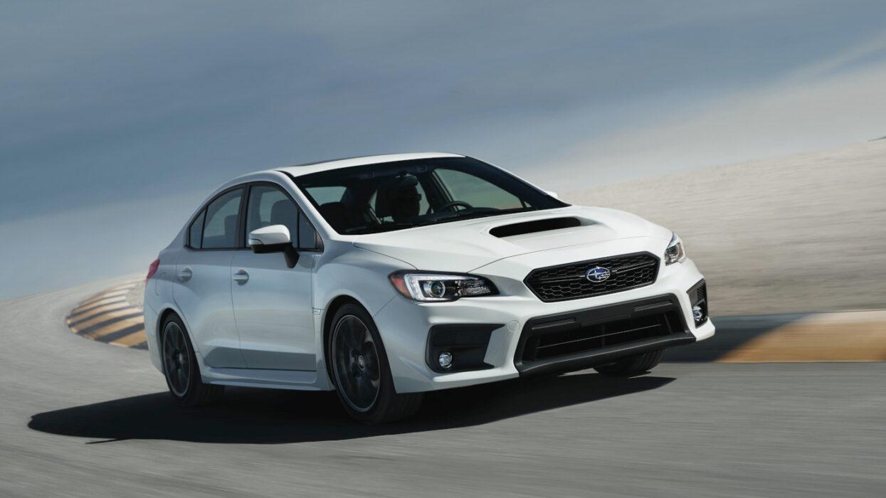 2020 Subaru WRX Series White